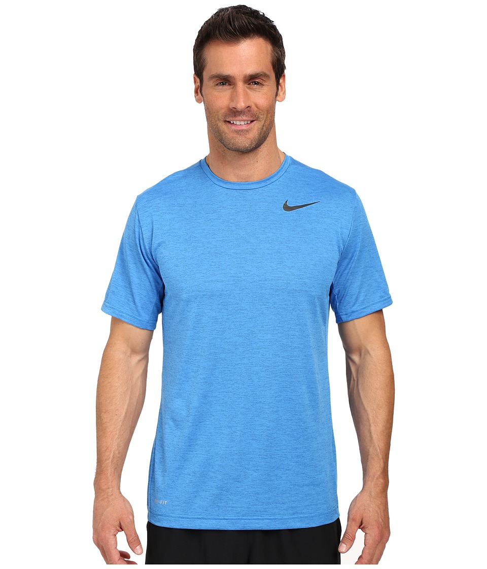 Nike - Dri-FIT Training Shirt (Light Photo Blue/Black) Men's Clothing