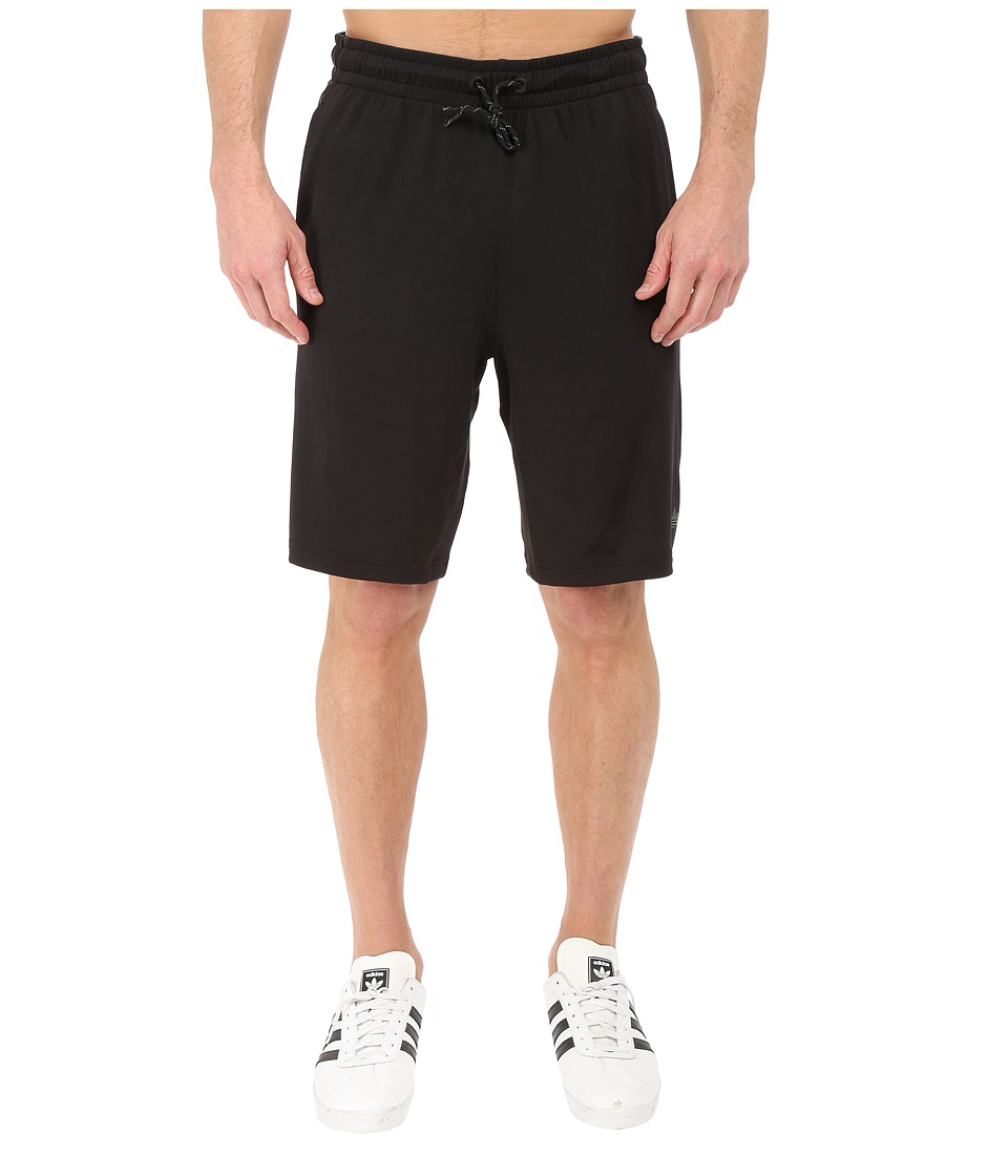 adidas Originals - Sport Luxe 3-Stripes Shorts (Black) Men's Shorts