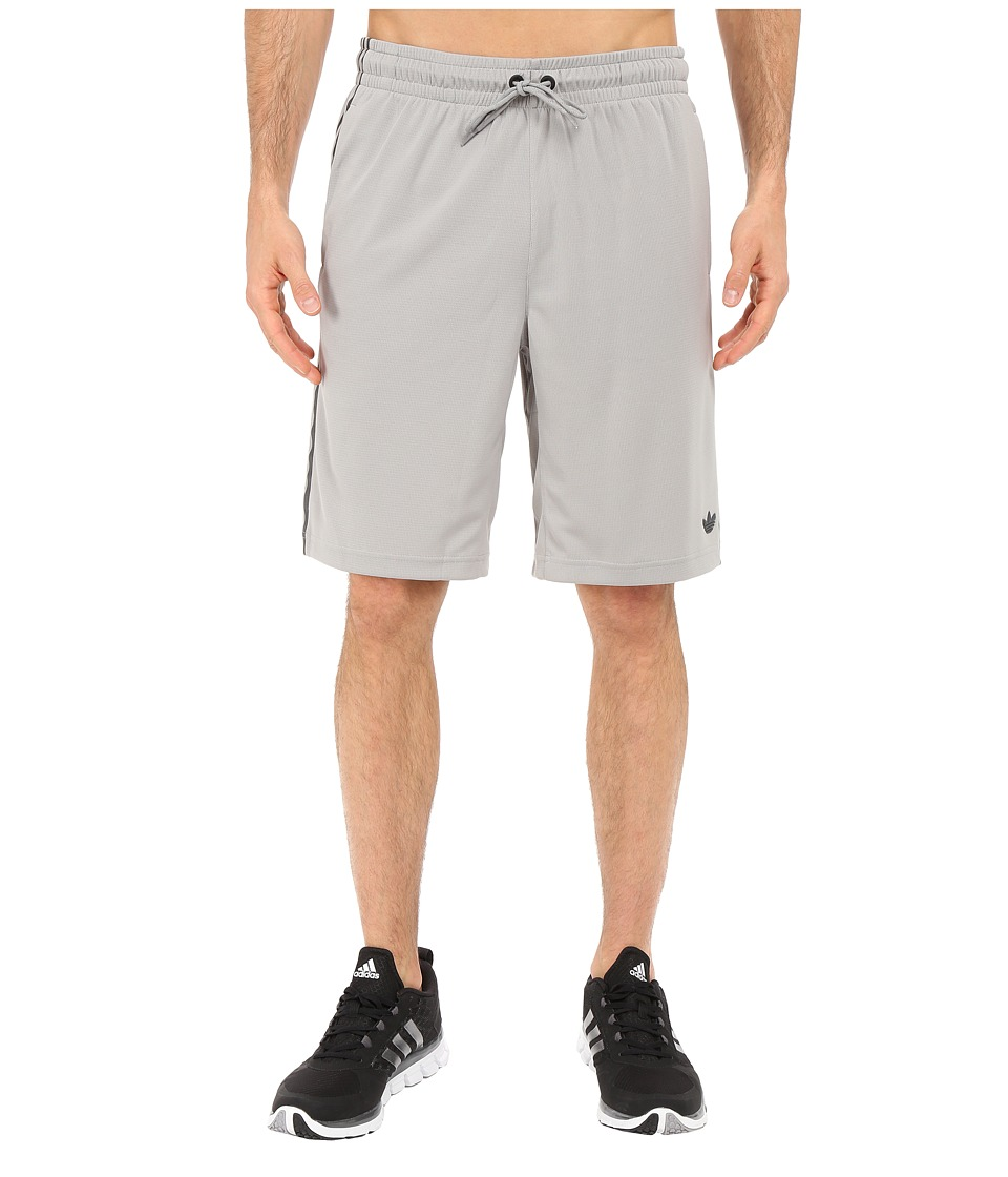 adidas Originals - Sport Luxe 3-Stripes Shorts (MGH Solid Grey) Men's Shorts