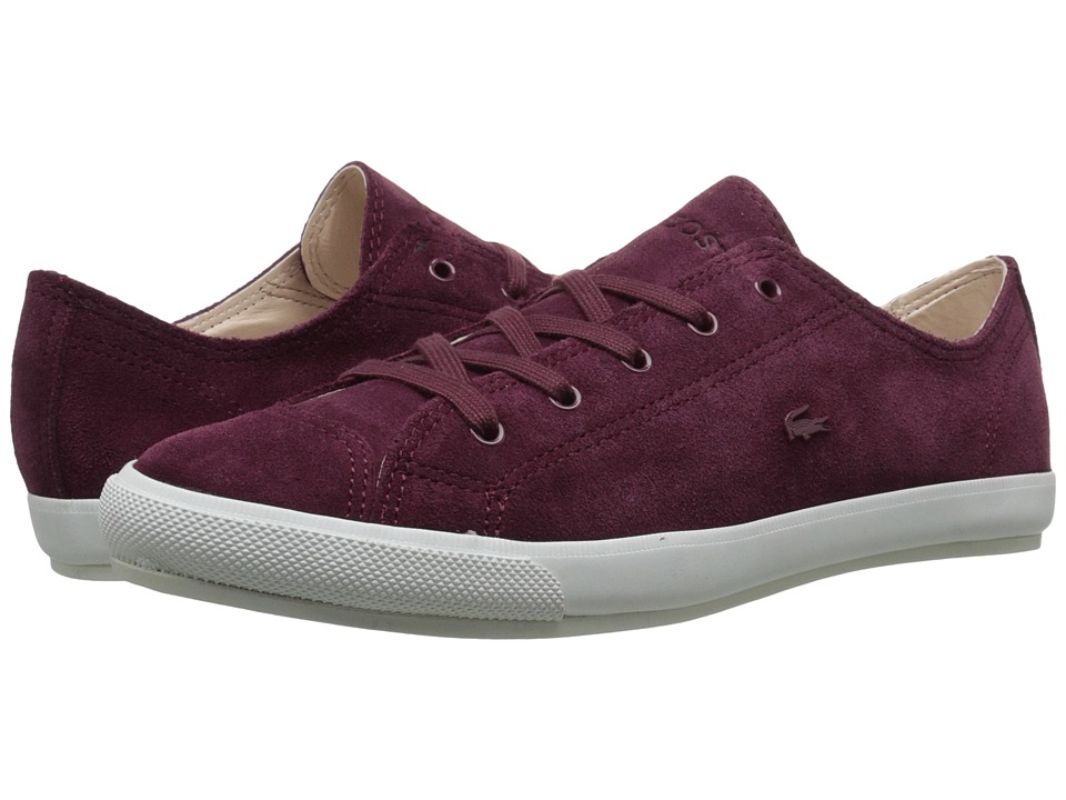 Lacoste - FAIRBURN W20 (Dark Burgundy) Women's Lace up casual Shoes