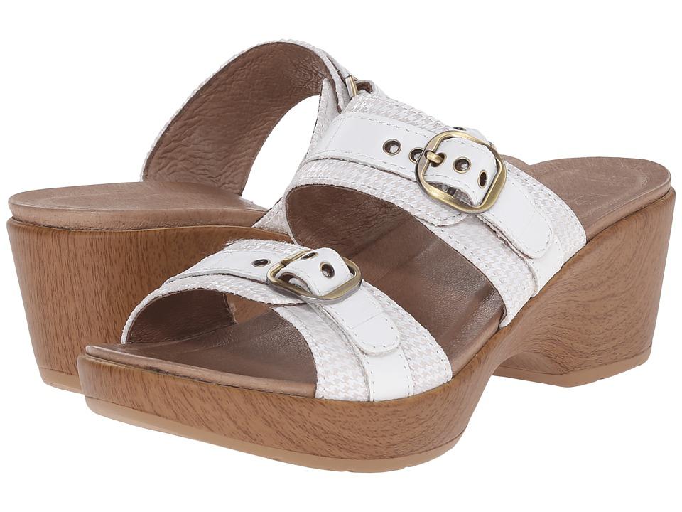 Dansko - Jessie (White Multi) Women's Slide Shoes