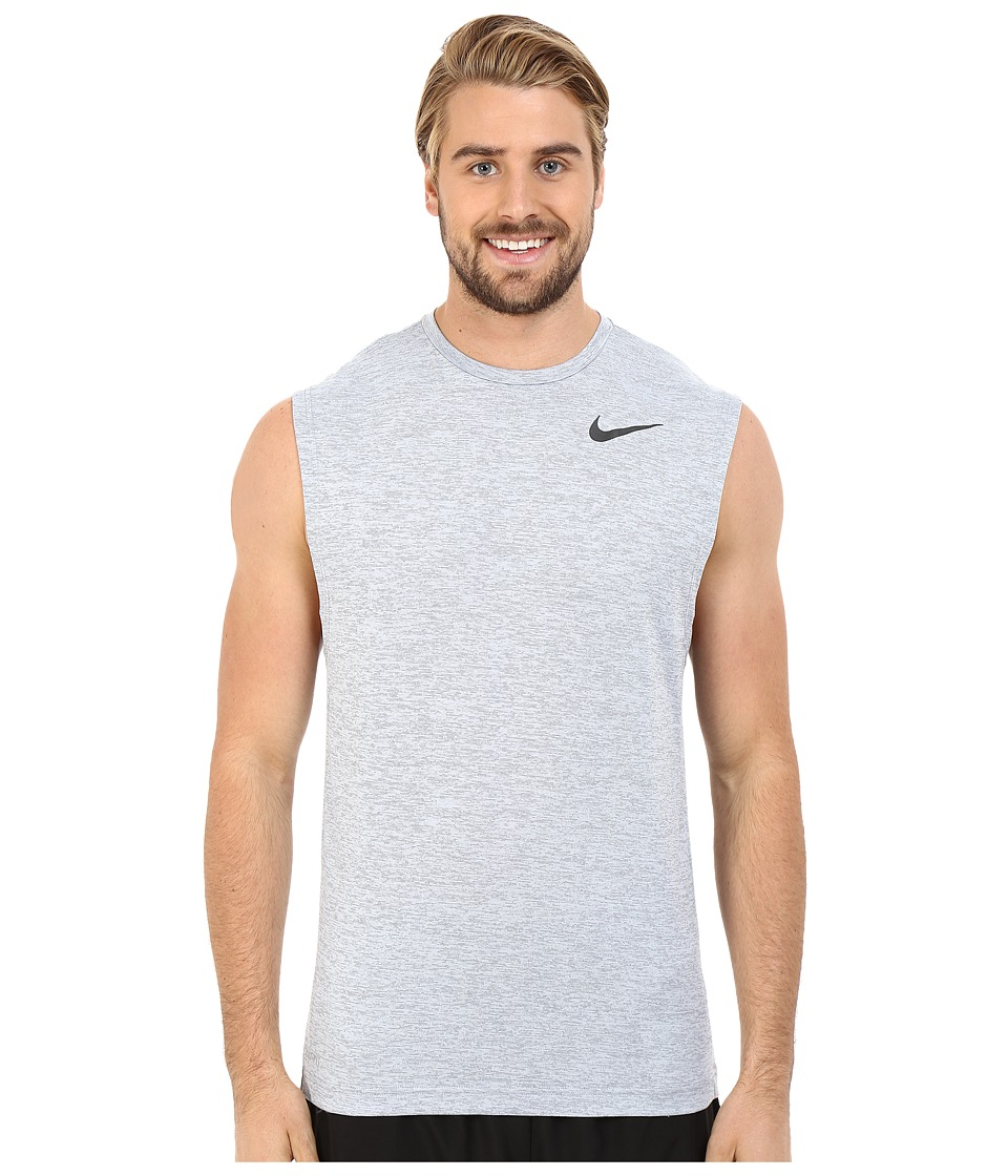 Nike - Dri-FITtm Training Muscle Tank Top (Cool Grey/Black) Men's Sleeveless