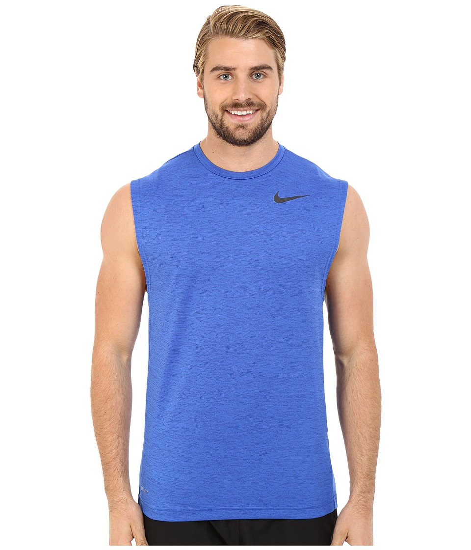 Nike - Dri-FIT Training Muscle Tank Top (Game Royal/Black) Men's Sleeveless