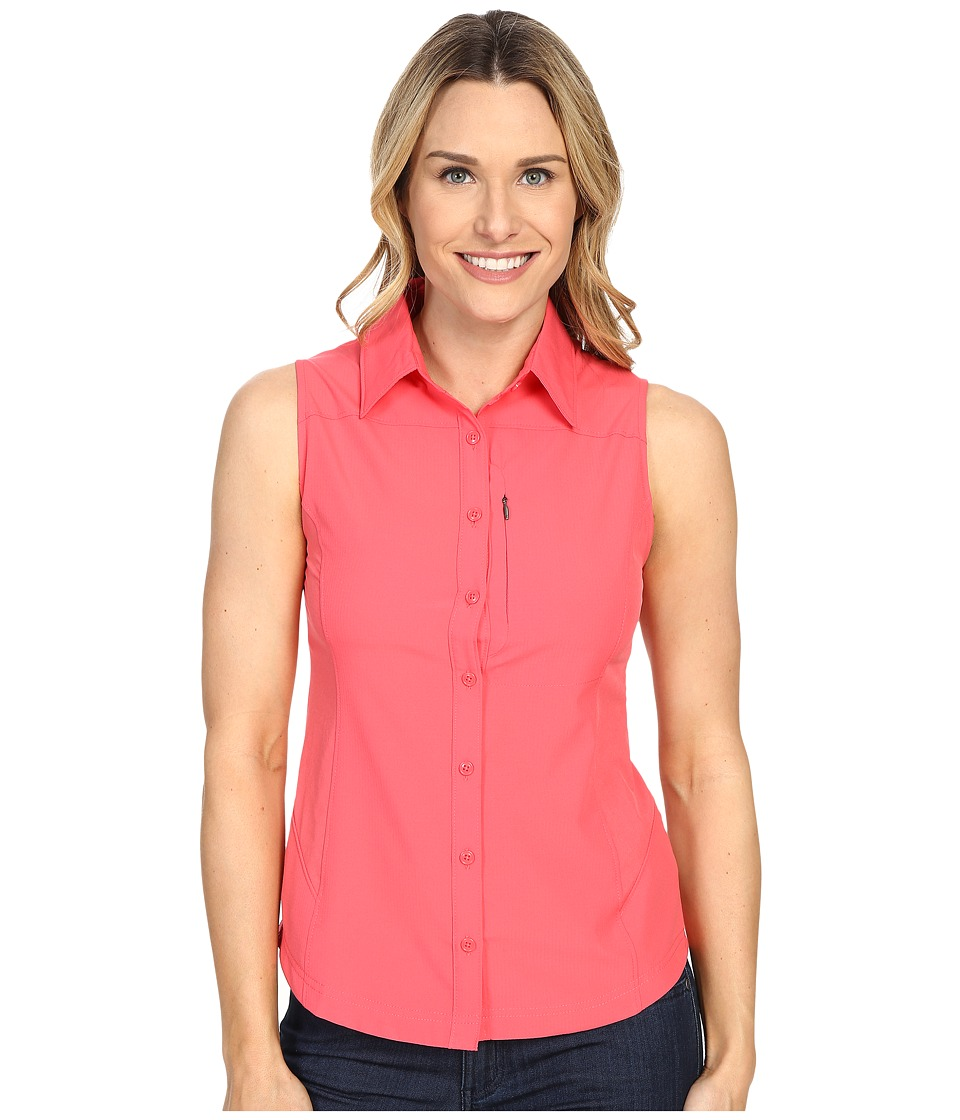 Columbia - Silver Ridge II Sleeveless Shirt (Bright Geranium) Women's Sleeveless