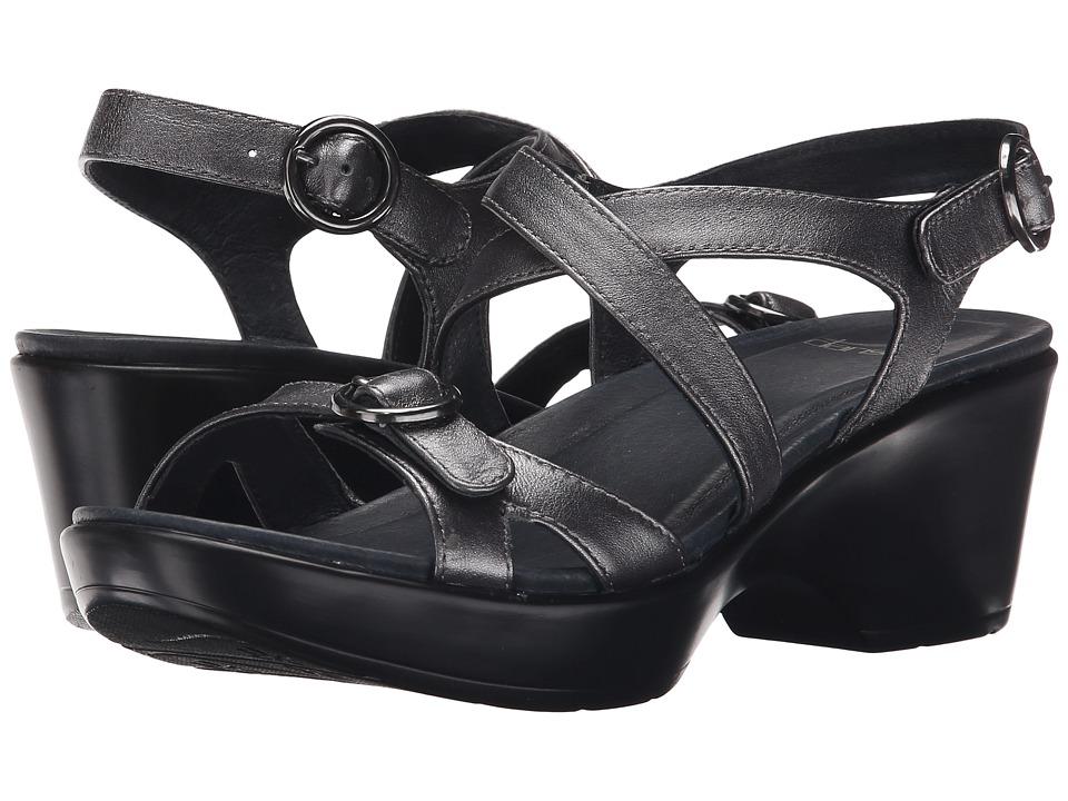 Dansko Julie (Pewter Leather) Women