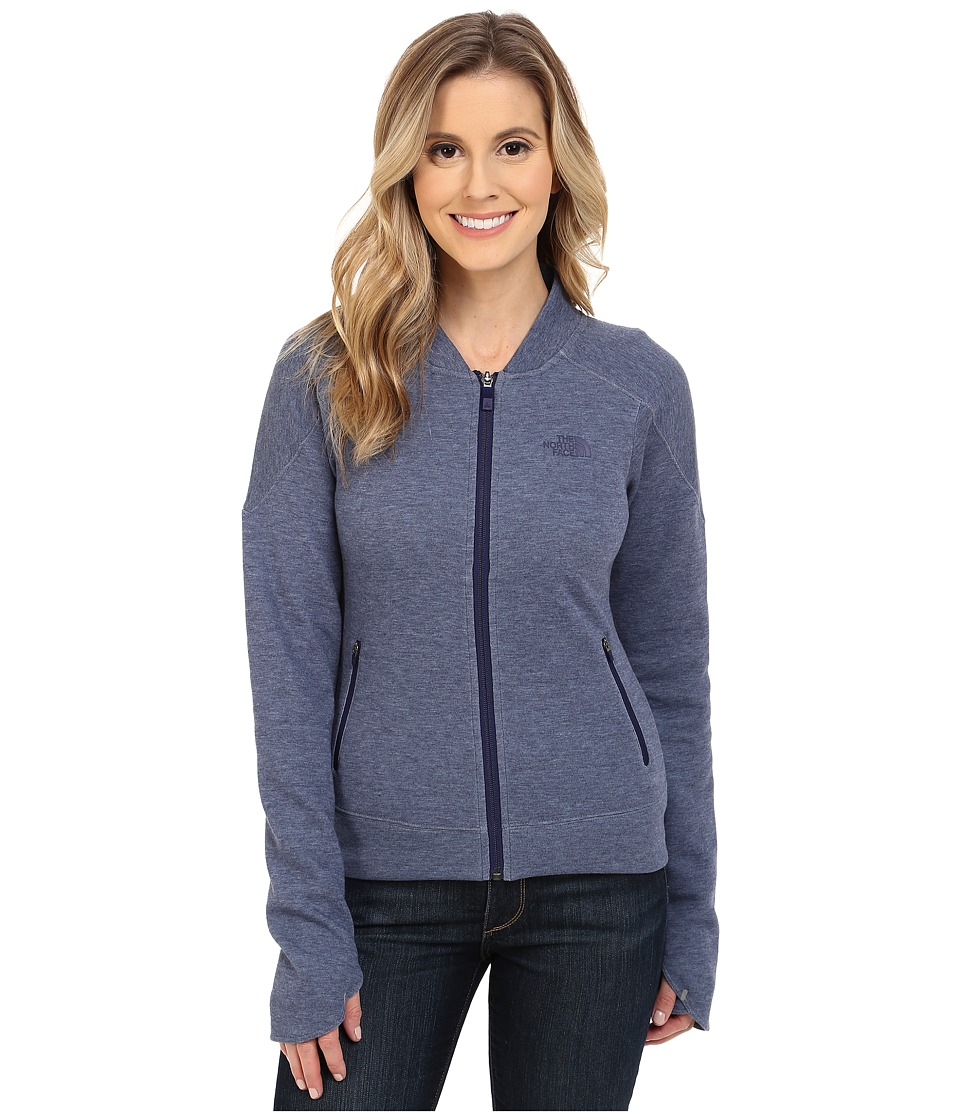The North Face - Short Cut Jacket (Patriot Blue Heather) Women's Coat plus size,  plus size fashion plus size appare
