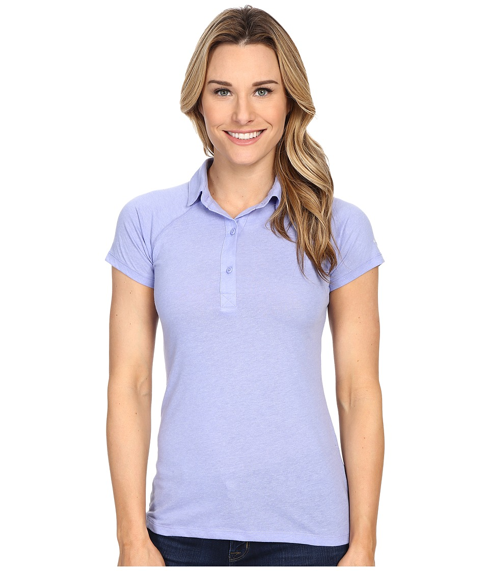 Columbia - Silver Ridge Zero Polo (Pale Purple Heather) Women's Short Sleeve Pullover