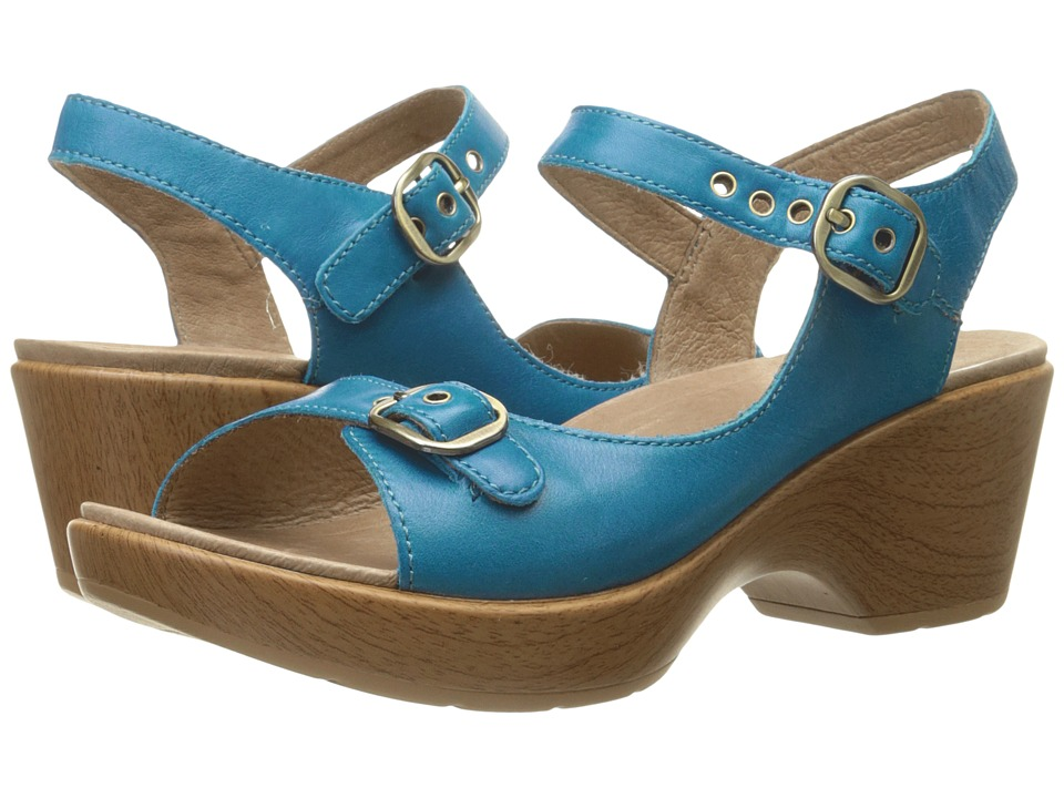 Dansko - Joanie (Capri Blue Full Grain) Women's Sling Back Shoes