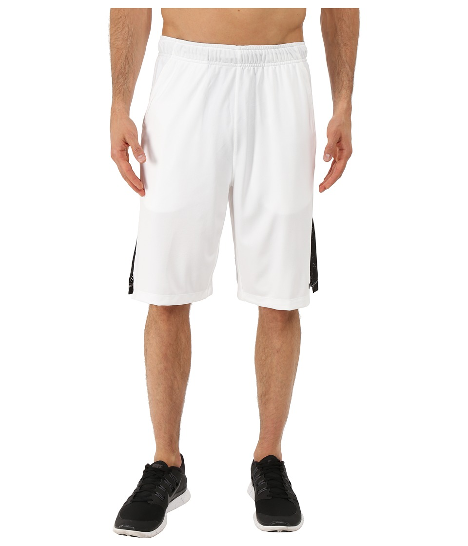 Nike - Hyperspeed Knit Training Short (White/Black/Black) Men's Shorts