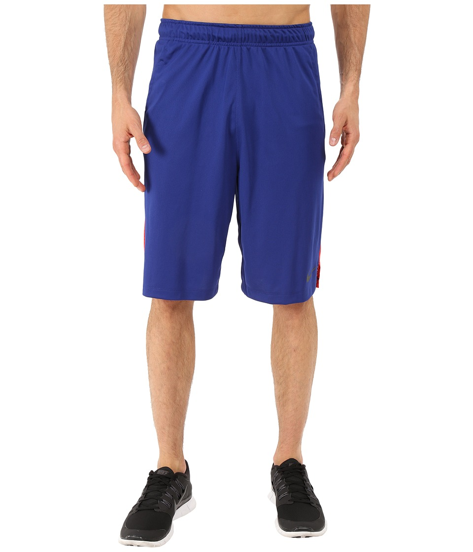 Nike - Hyperspeed Knit Training Short (Deep Royal Blue/University Red/Black) Men