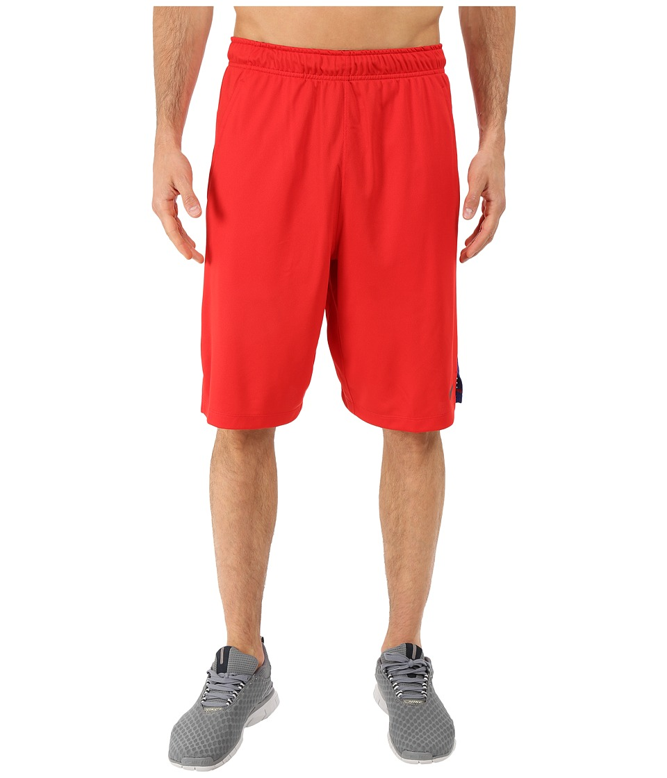 Nike - Hyperspeed Knit Training Short (University Red/Deep Royal Blue/Black) Men's Shorts
