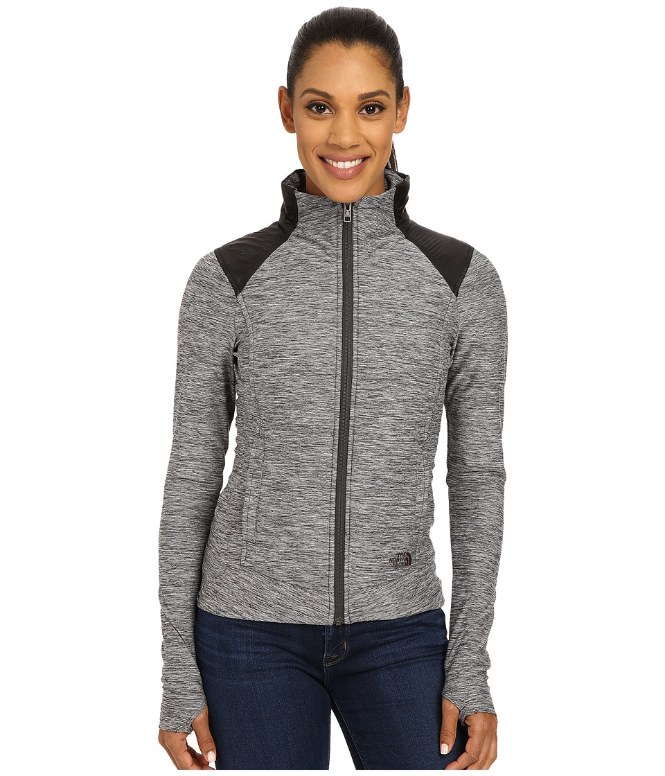 The North Face - Pseudio Jacket (TNF Dark Grey Heather/TNF Black) Women's Coat