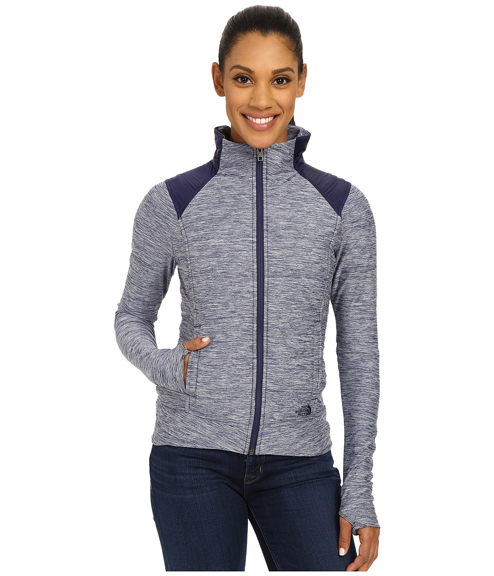 The North Face - Pseudio Jacket (Patriot Blue Heather/Patriot Blue) Women's Coat