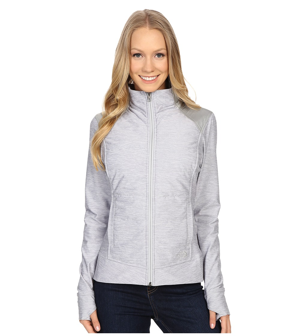 The North Face - Pseudio Jacket (TNF Light Grey Heather/Asphalt Grey) Women's Coat