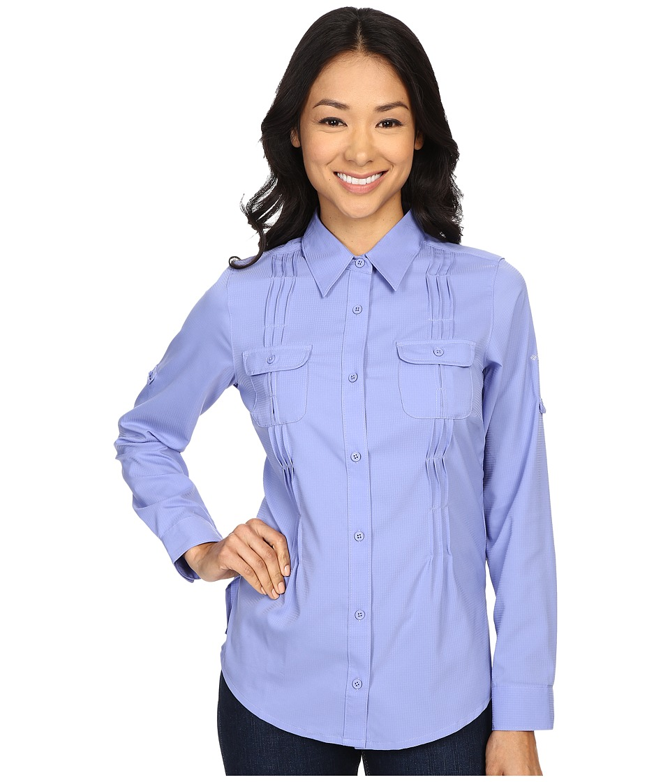 Columbia - Sun Goddess II L/S Shirt (Pale Purple) Women's Long Sleeve Button Up