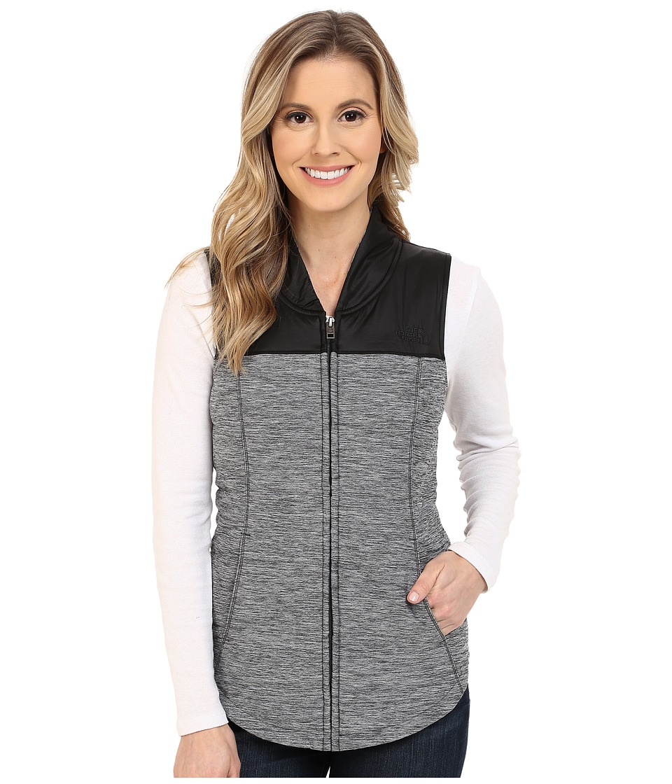 The North Face - Pseudio Vest (TNF Dark Grey Heather/TNF Black) Women's Vest