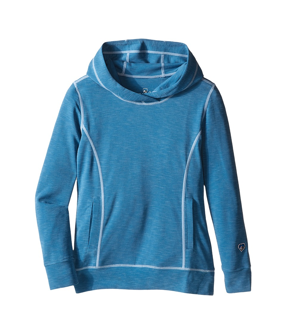 Kuhl Kids - Moongazer Hoodie (Little Kids/Big Kids) (Seaport) Girl's Sweatshirt