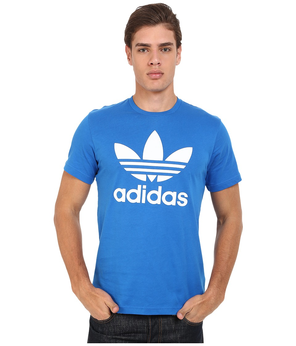 adidas Originals - Originals Trefoil Tee (Bluebird/White) Men's T Shirt