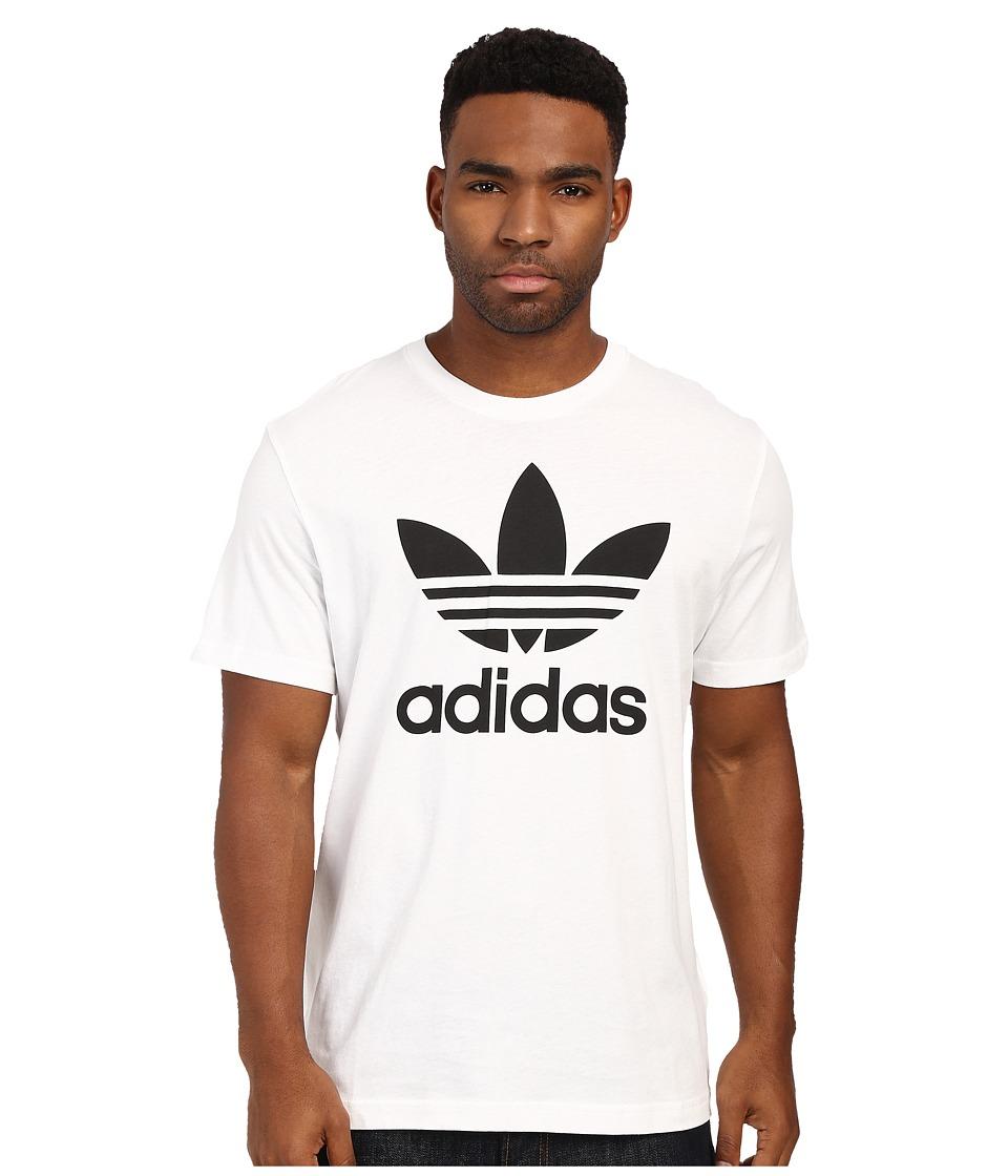 hot sales 16842 07027 Adidas Originals Mens Trefoil T Shirt Black Gold