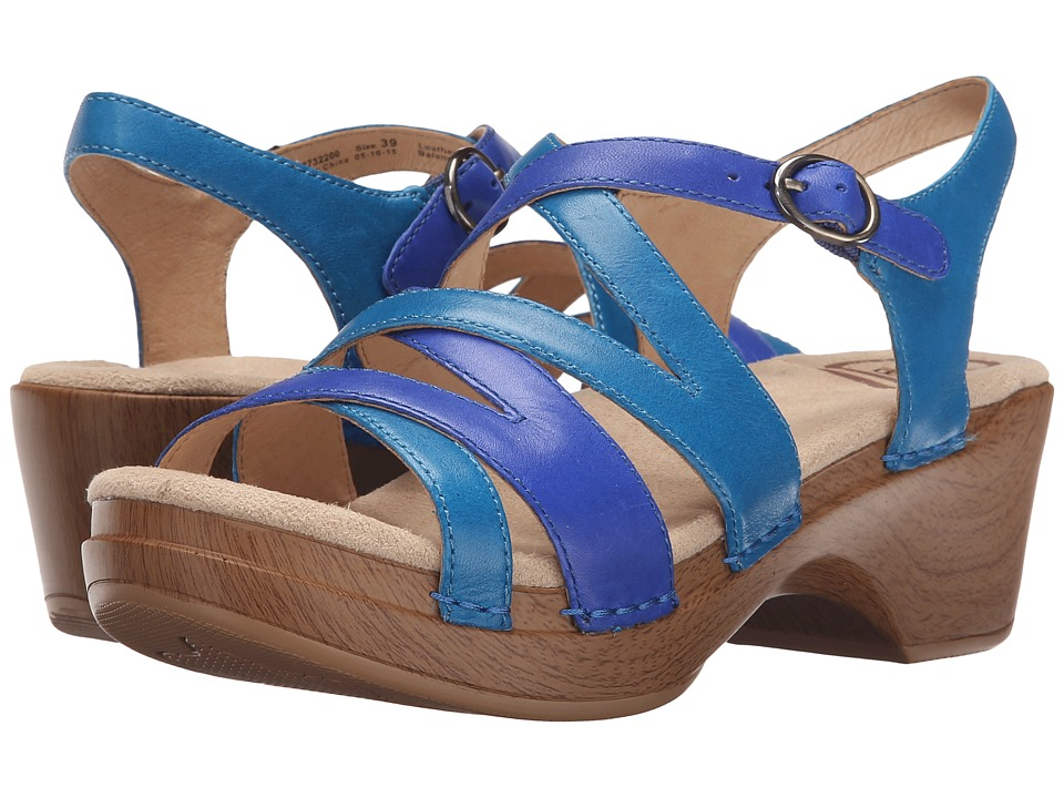 Dansko - Stevie (Blue Multi) Women's Sandals