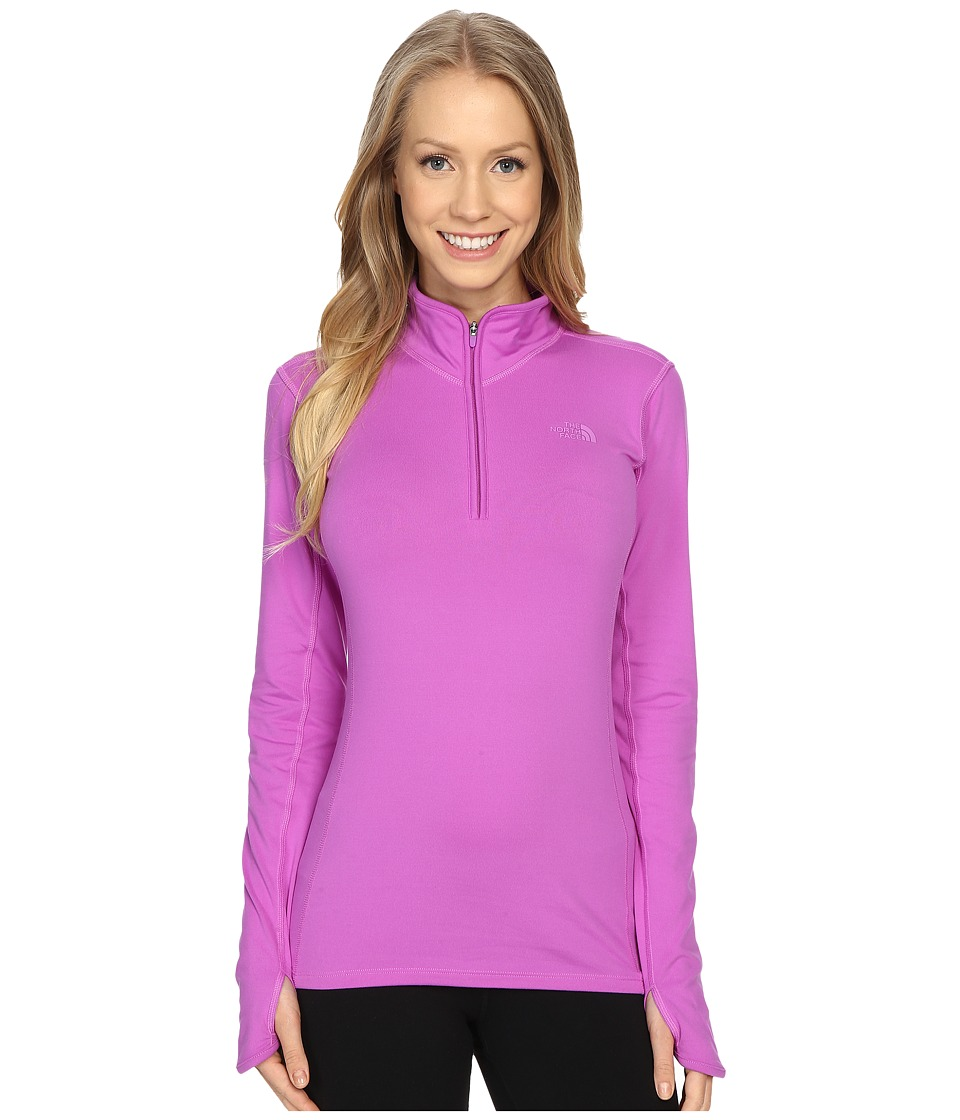 The North Face - Motivation 1/4 Zip Pullover (Sweet Violet) Women's Long Sleeve Pullover