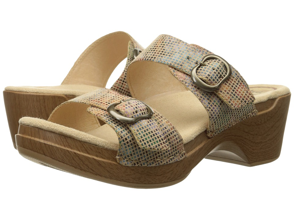 Dansko - Sophie (Sand Stained Glass) Women's Sandals