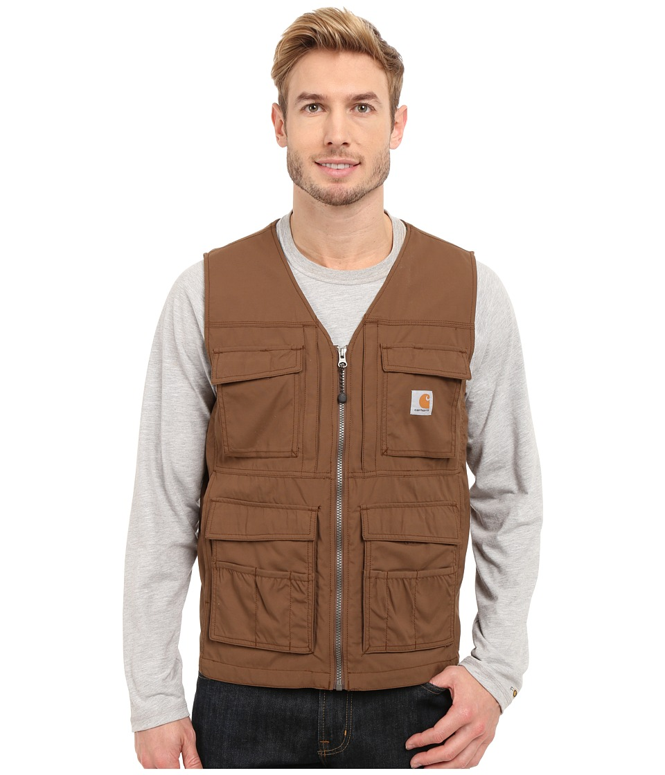 Carhartt - Briscoe Vest (Coffee) Men's Vest