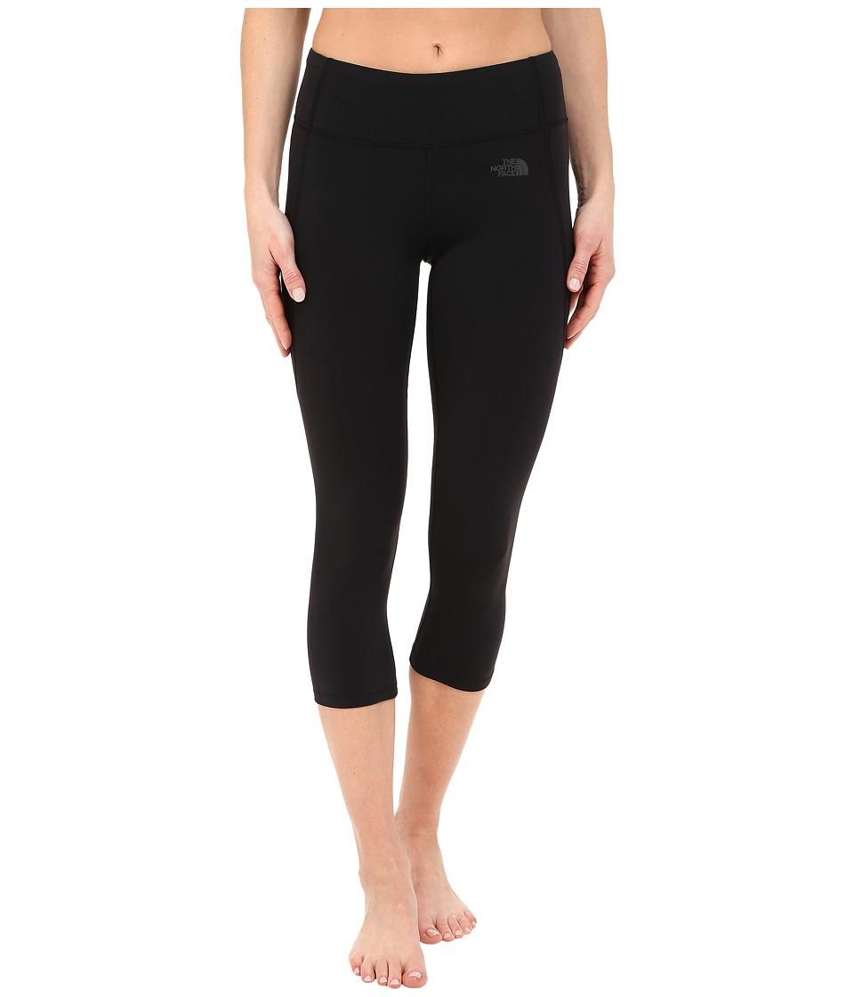 The North Face - Motivation Crop Leggings (TNF Black (Prior Season)) Women's Casual Pants
