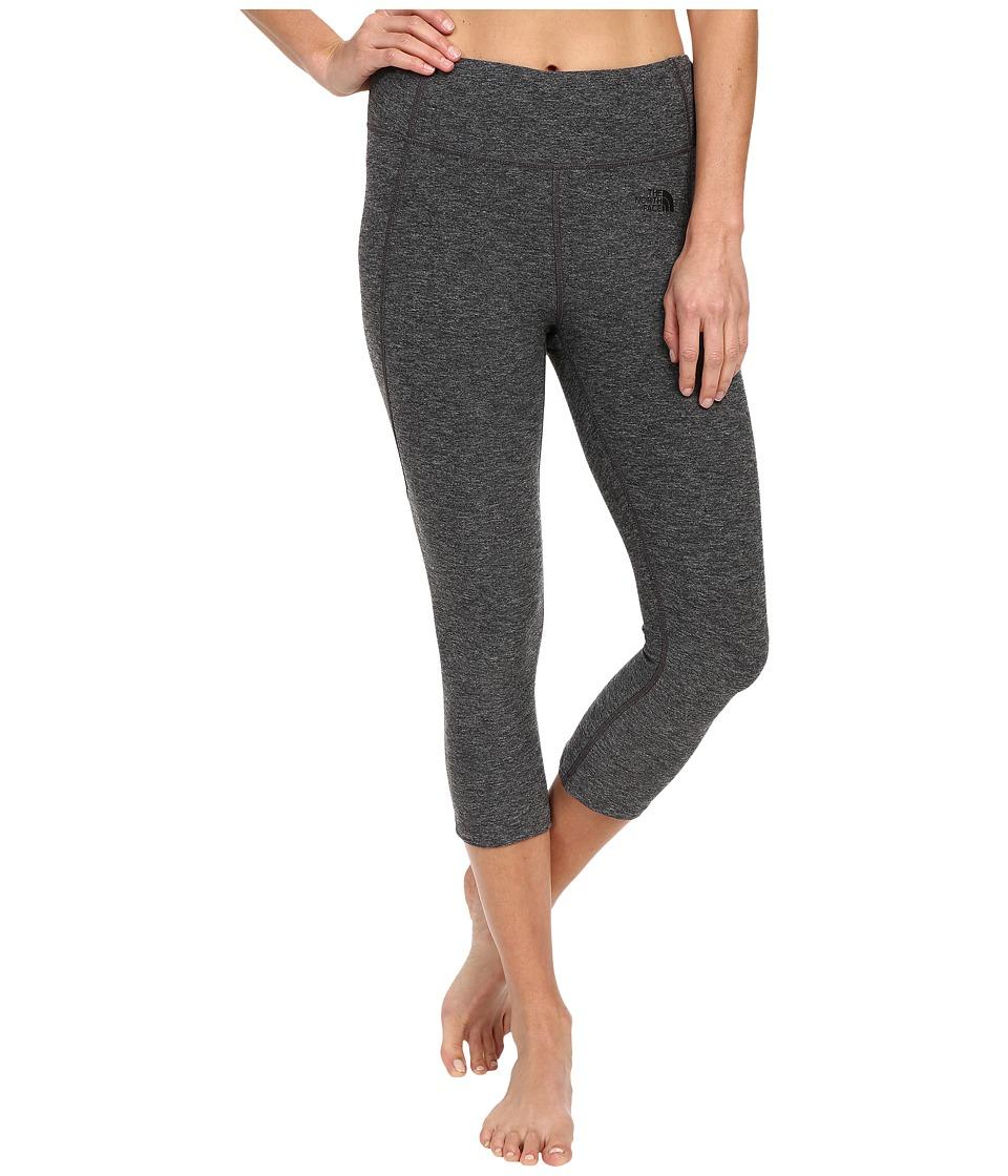 The North Face - Motivation Crop Leggings (TNF Dark Grey Heather (Prior Season)) Women's Casual Pants