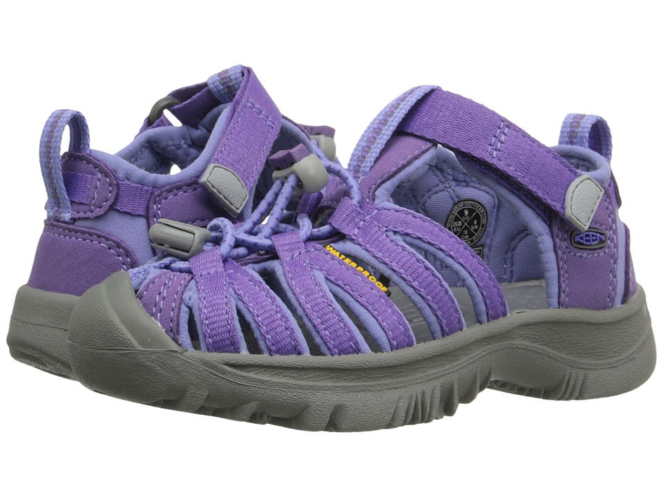 Keen Kids - Whisper (Toddler/Little Kid) (Purple Heart/Periwinkle) Girls Shoes