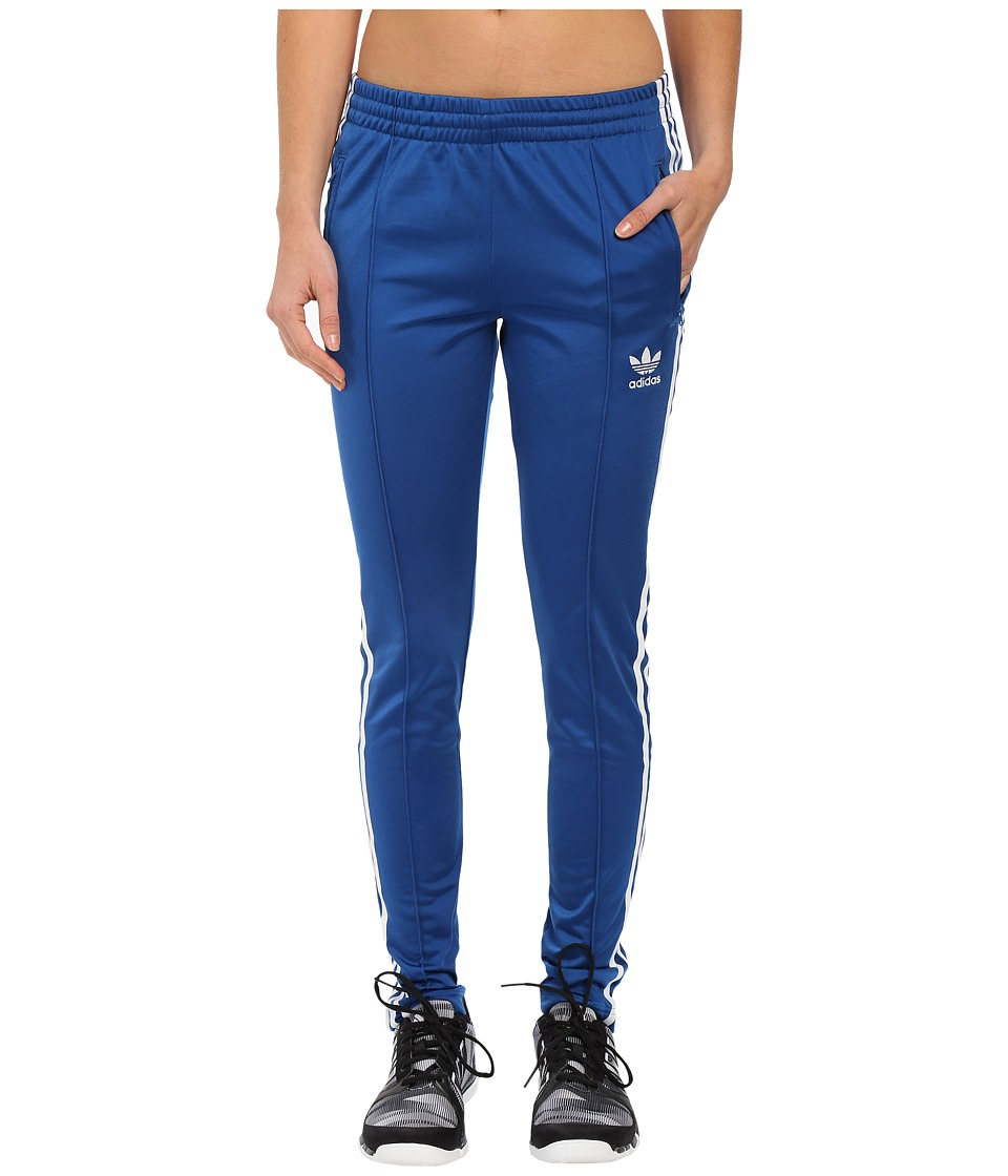 adidas Originals - Supergirl Track Pants (EQT Blue/White) Women's Casual Pants