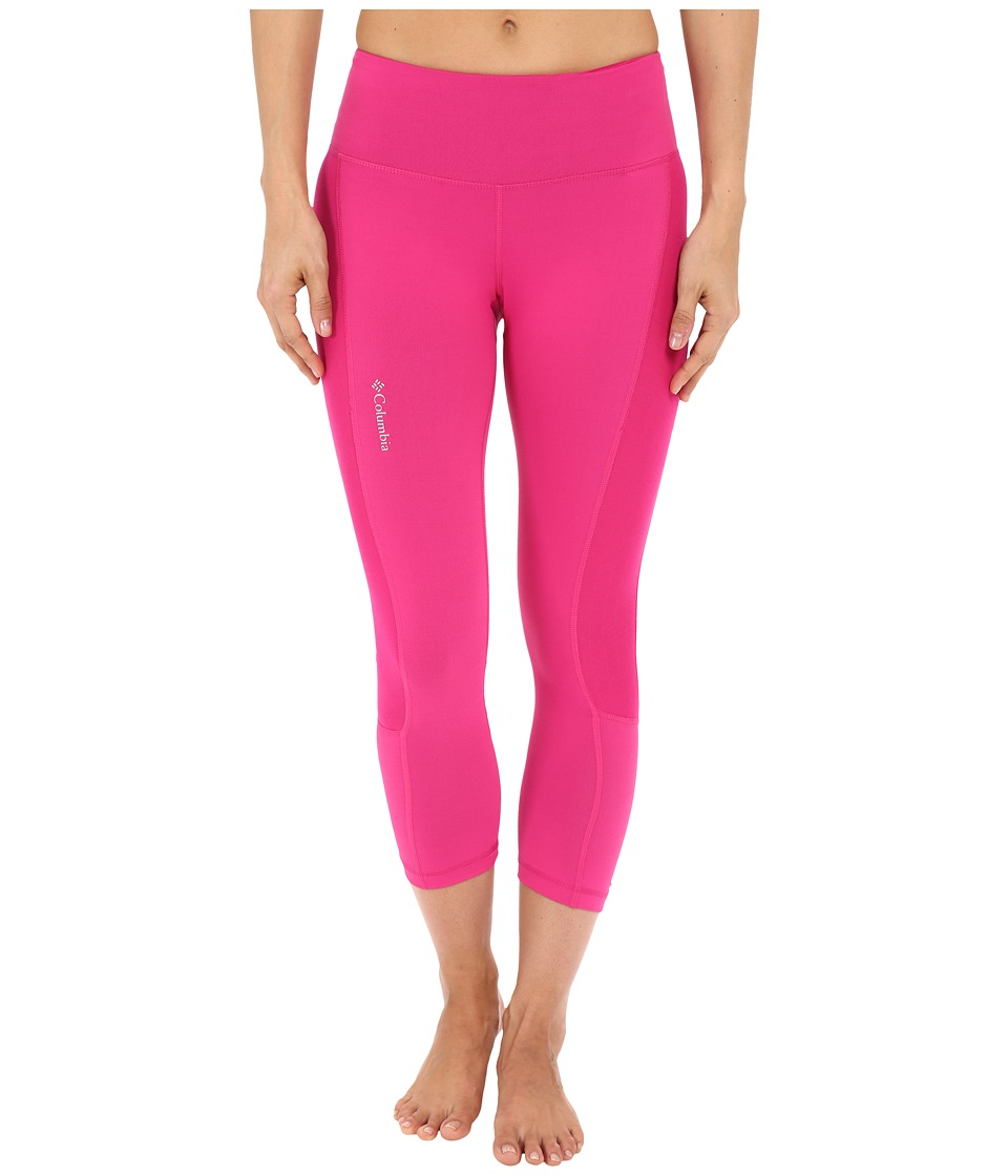 Columbia - Trail Flash Capri Pants (Haute Pink) Women's Capri