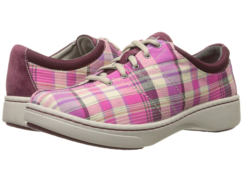Dansko - Brandi (Pink Madras Canvas) Women's Shoes