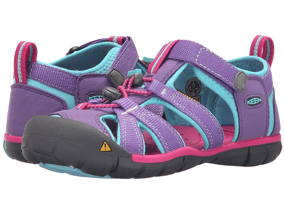 Keen Kids - Seacamp II CNX (Little Kid/Big Kid) (Purple Heart/Very Berry) Girls Shoes