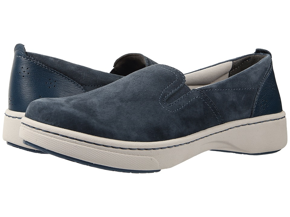 Dansko - Belle (Navy Suede) Women's Slip on Shoes