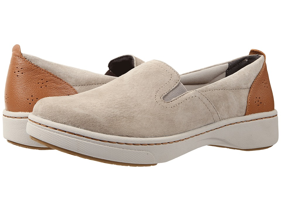 Dansko - Belle (Taupe Suede) Women's Slip on Shoes