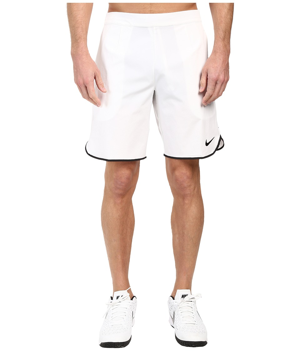 Nike Gladiator 9 Tennis Short (White/Black) Men