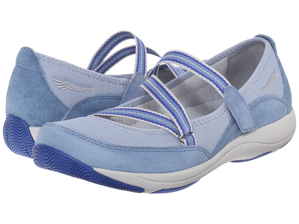 Dansko - Hazel (Light Blue Suede) Women's Shoes
