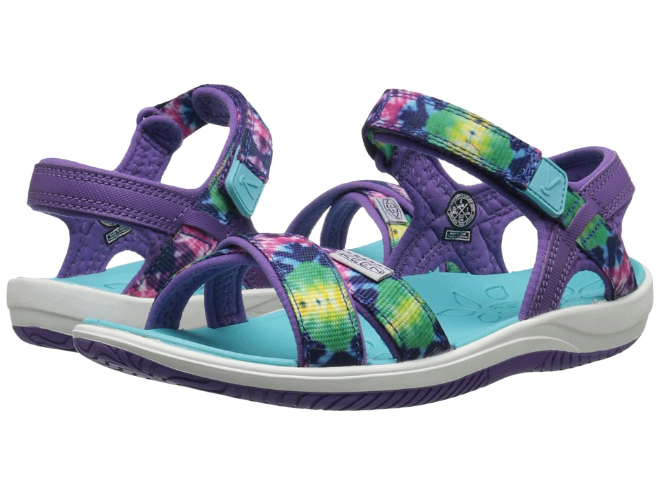 Keen Kids - Phoebe (Little Kid/Big Kid) (Purple Tie Dye) Girls Shoes