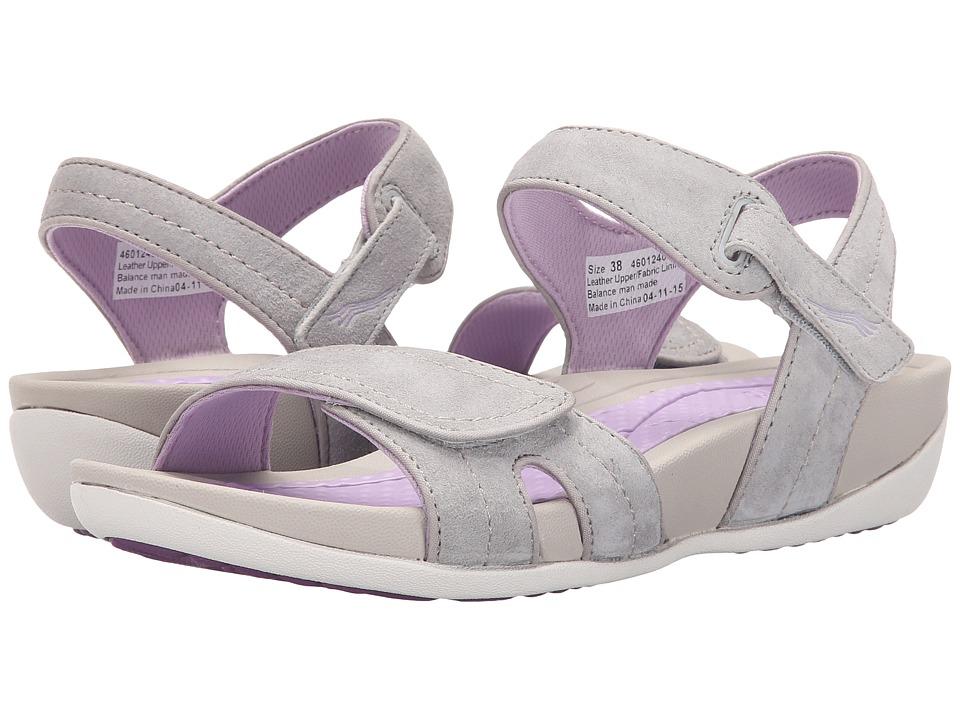 Dansko - Kami (Grey/Lavender Suede) Women's Sandals