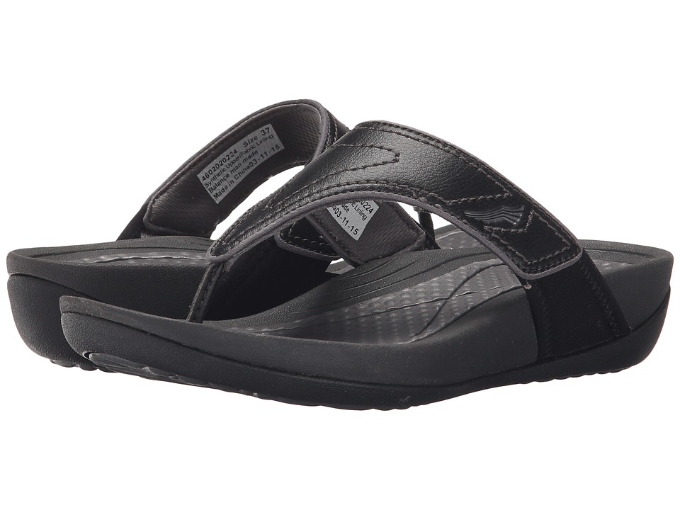 Dansko - Katy 2 (Black/Grey Smooth) Women's Sandals
