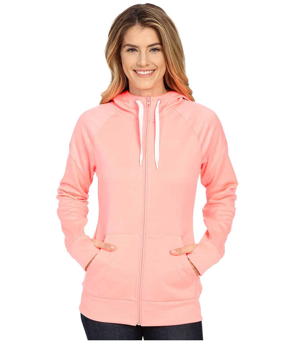 UPC 706421859325 product image for The North Face - Suprema Full Zip Hoodie  (Neon Peach ... cd6fb0c93e