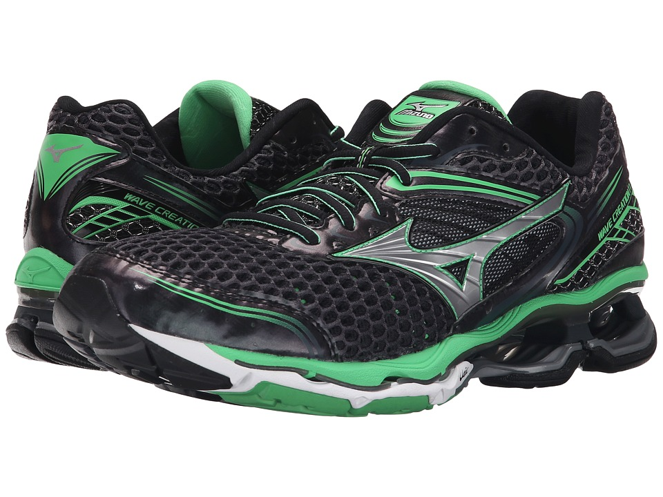 Mizuno - Wave Creation 17 (Ombre Blue/Silver/Irish Green) Men