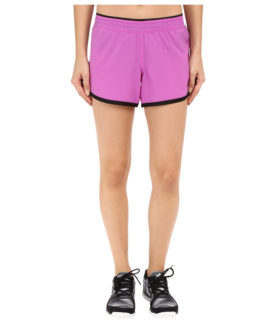 The North Face - Reflex Core Shorts (Sweet Violet/TNF Black) Women's Shorts