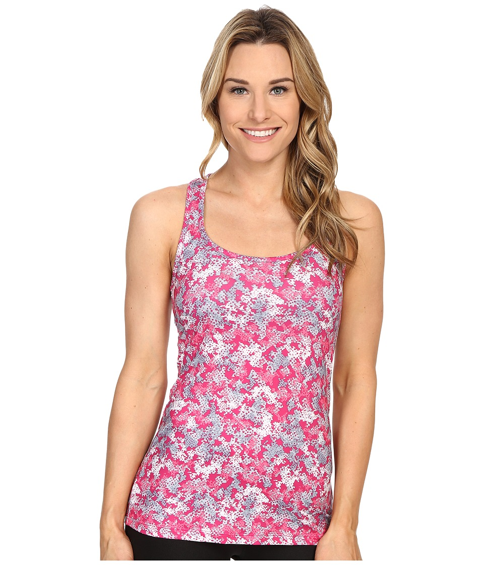 Columbia Trail Fiestatm Tank Top (Haute Pink Cloudy Camo) Women