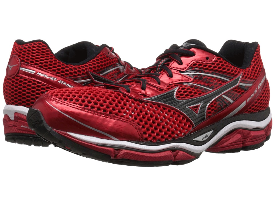 Mizuno - Wave Enigma 5 (Chinese Red/Black/Silver) Men's Running Shoes