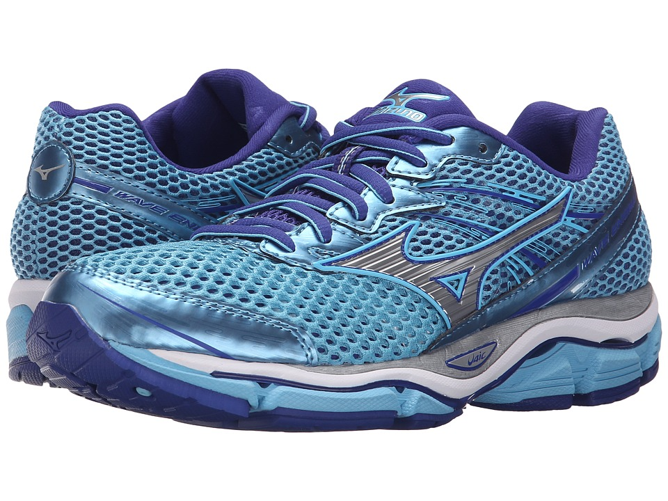 Mizuno - Wave Enigma 5 (Blue Grotto/Silver/Clematis Blue) Women