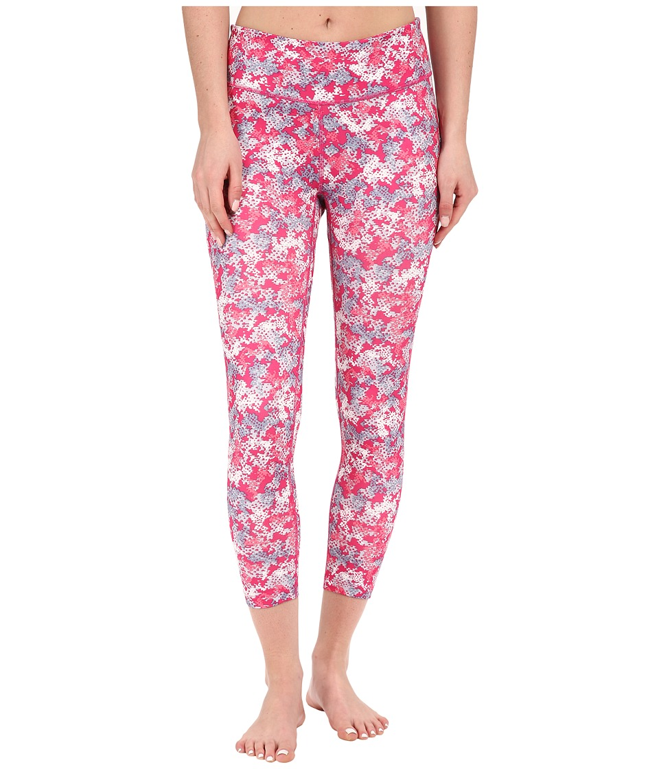Columbia - Trail Bound Capri Tight (Haute Pink Cloudy Camo) Women's Casual Pants