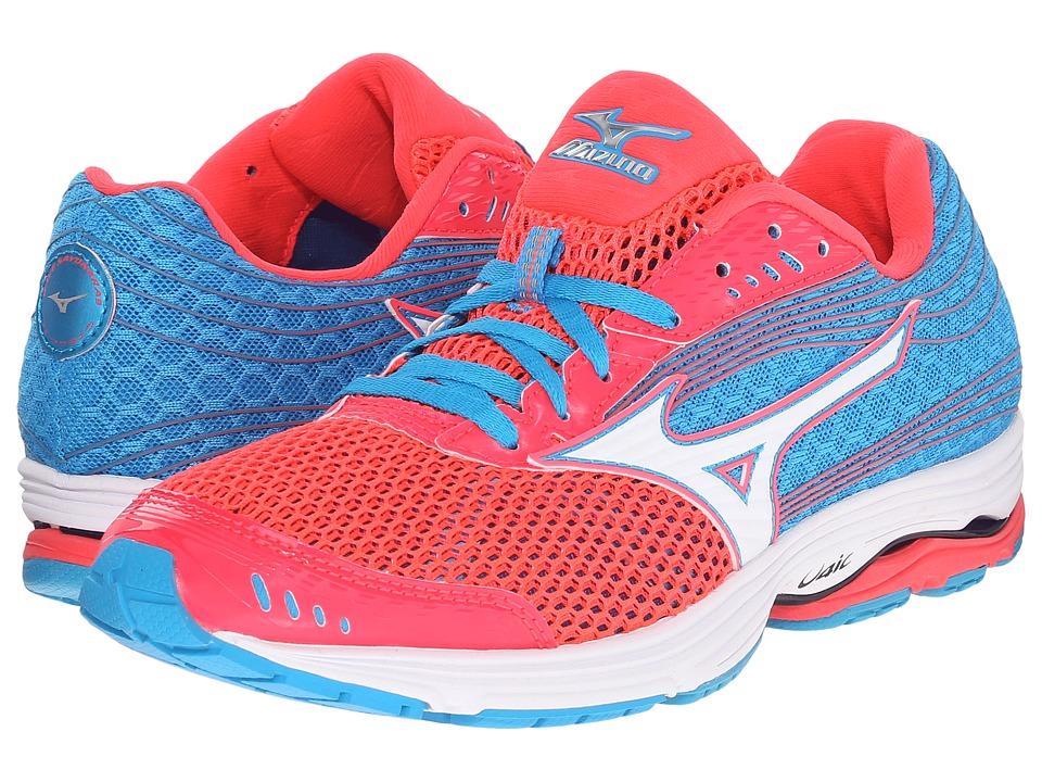 Mizuno - Wave Sayonara 3 (Diva Pink/White/Atomic Blue) Women's Running Shoes