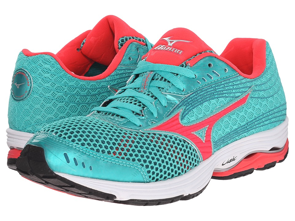 Mizuno - Wave Sayonara 3 (Atlantis/Diva Pink/Silver) Women's Running Shoes